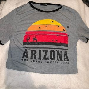 PLT Arizona Crop Top Size S